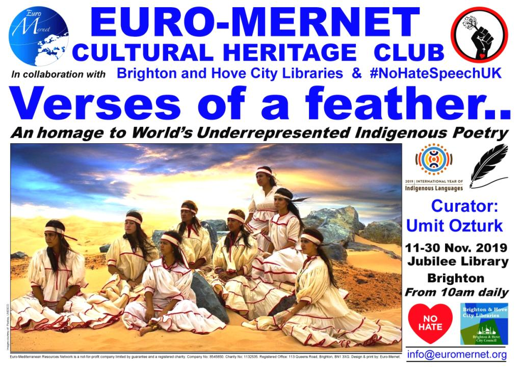 euromernet-exhibition-Indigenous-Poetry-11-to-30-nov-2019-poster-Copy